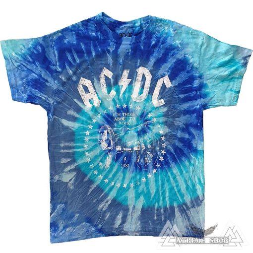 AC/DC - FOR THOSE ABOUT TO ROCK PÓLÓ /BATIKOLT/