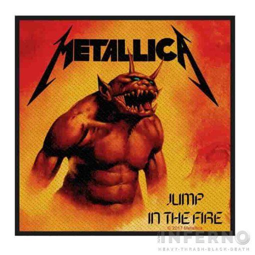 METALLICA - Jump in the fire szövött felvarró