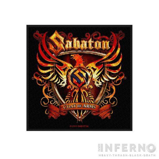 SABATON - Coat of arms Szövött felvarró
