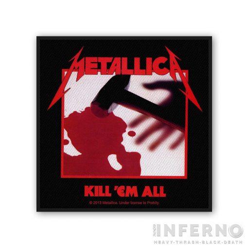 Metallica - Kill 'Em All szövött felvarró