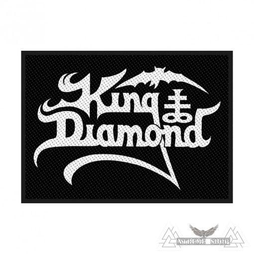 King Diamond - Logo Szövött felvarró