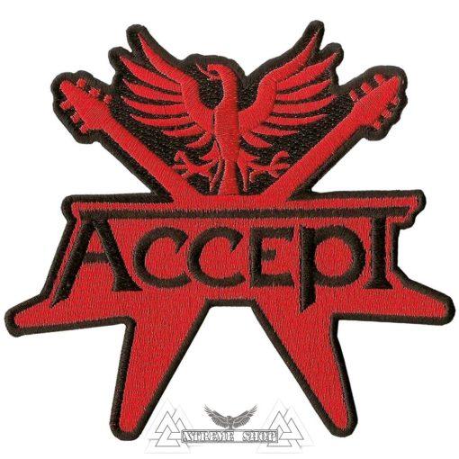 ACCEPT - Logo Szövött felvarró