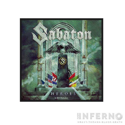 SABATON - Heroes szövött felvarró