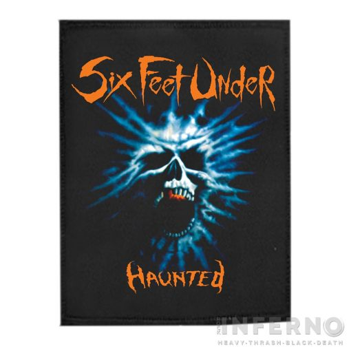 Six Feet Under - Haunted Szövött Felvarró (9x12cm)