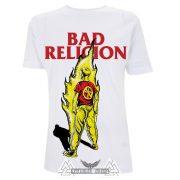 BAD RELIGION - BOY ON FIRE póló