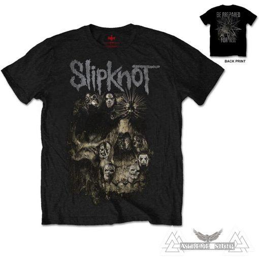 SLIPKNOT - SKULL GROUP PÓLÓ