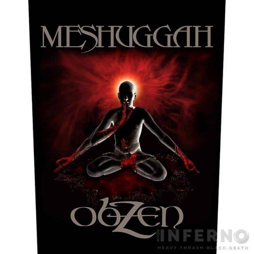 Meshuggah - Obzen Hátfelvarró