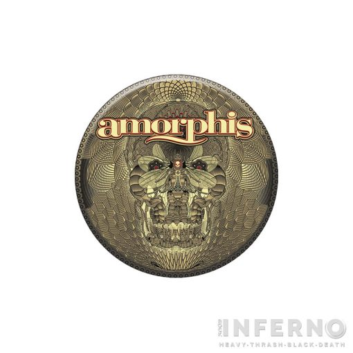 AMORPHIS - Queen of time Kitűző