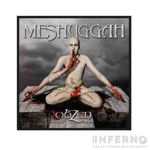 MESHUGGAH - Obzen szövött felvarró