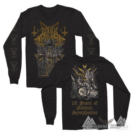 Dark Funeral - 25 Years Of Satanic Symphonies Hosszú ujjú póló