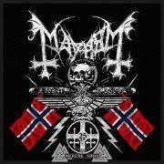 Mayhem - Coat Of Arms szövött felvarró