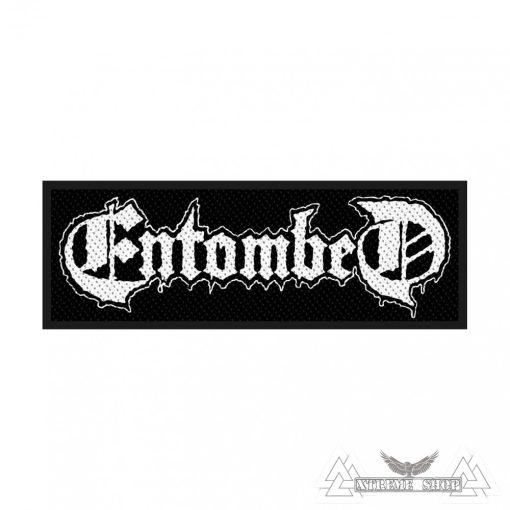 Entombed - Logo Szövött felvarró