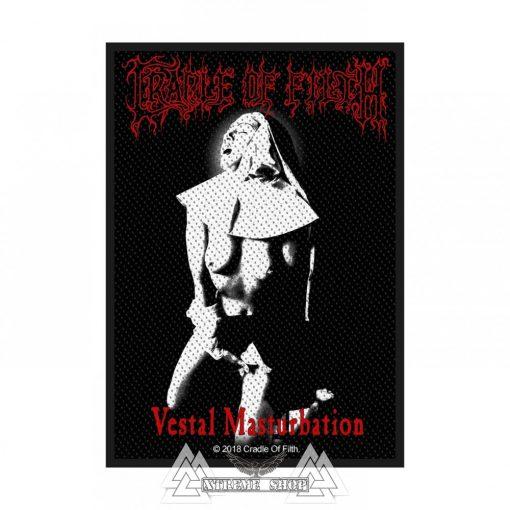 Cradle Of Filth - Vestal Masturbation szövött felvarró