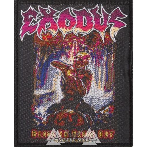 EXODUS - Blood in, blood out szövött felvarró