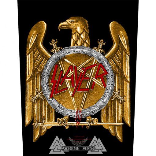 Slayer 'Golden Eagle' Hátfelvarró