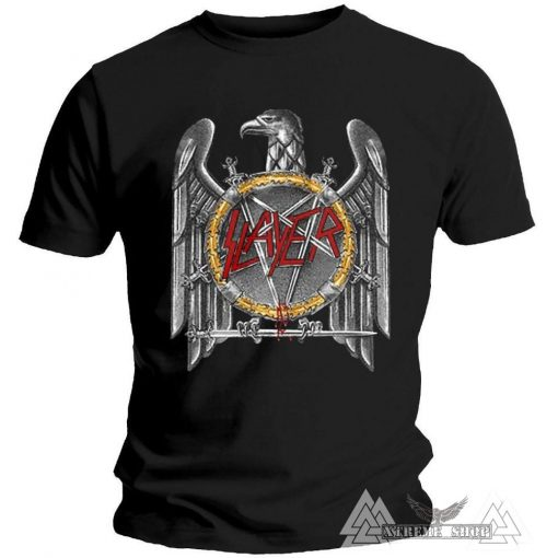 SLAYER PÓLÓ - SILVER EAGLE T-SHIRT/PÓLÓ