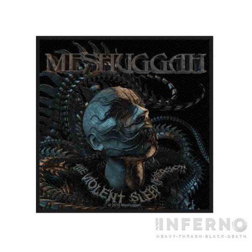 Meshuggah - Head szövött felvarró