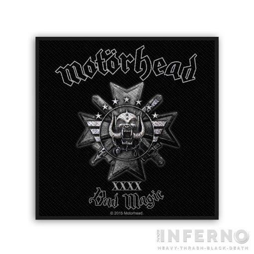Motorhead - Bad Magic Szövött felvarró