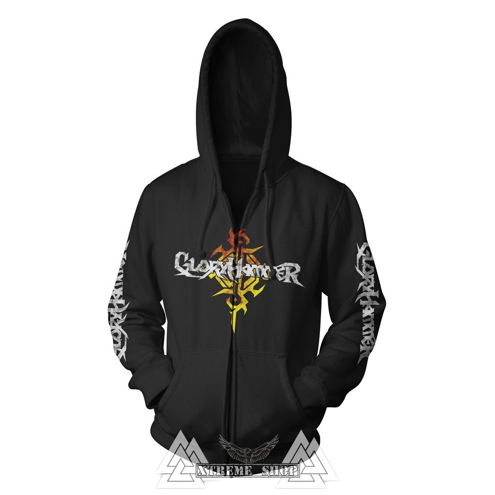 e7b784dcb1 GLORYHAMMER - Dragon Cipzáras kapucnis pulóver - Xtreme Shop