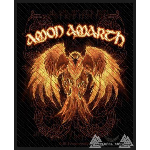 Amon Amarth - Phoenix Szövött felvarró