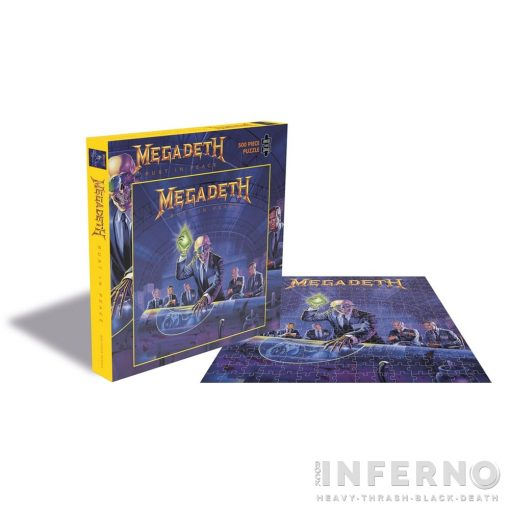 MEGADETH - RUST IN PEACE (500 DARABOS PUZZLE)