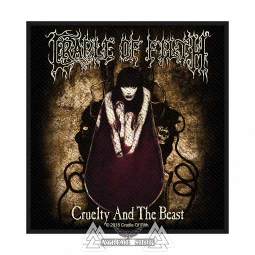 Cradle Of Filth - Cruelty And The Beast Szövött felvarró
