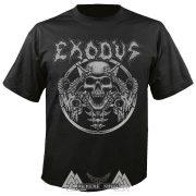 EXODUS Horns skull póló