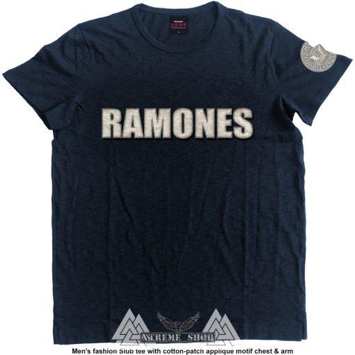 RAMONES - LOGO & PRESIDENTIAL SEAL PÓLÓ