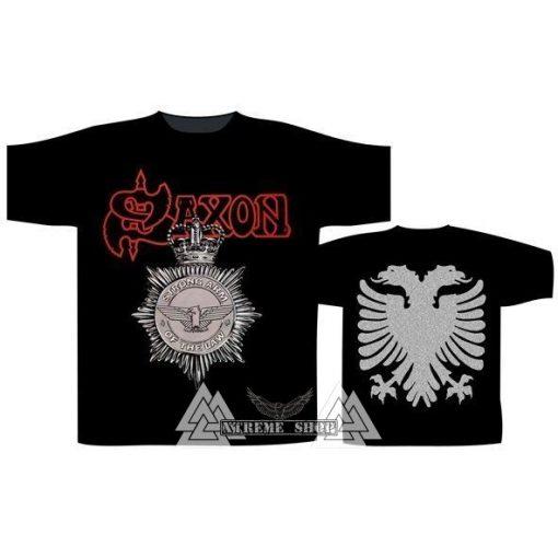 Saxon T-shirt  - Strong Arm Of The Law Póló