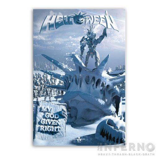 HELLOWEEN - My God-Given Right óriás zászló 100x150cm