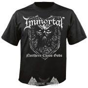 IMMORTAL - Northern chaos gods póló