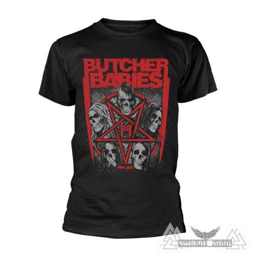Butcher Babies - Star Skull Póló