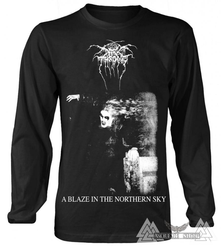 002f2b0b52 Darkthrone 'A Blaze In The Northern Sky' hosszú ujjú póló - Xtreme Shop