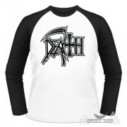 Death - Logo 01 Baseball póló