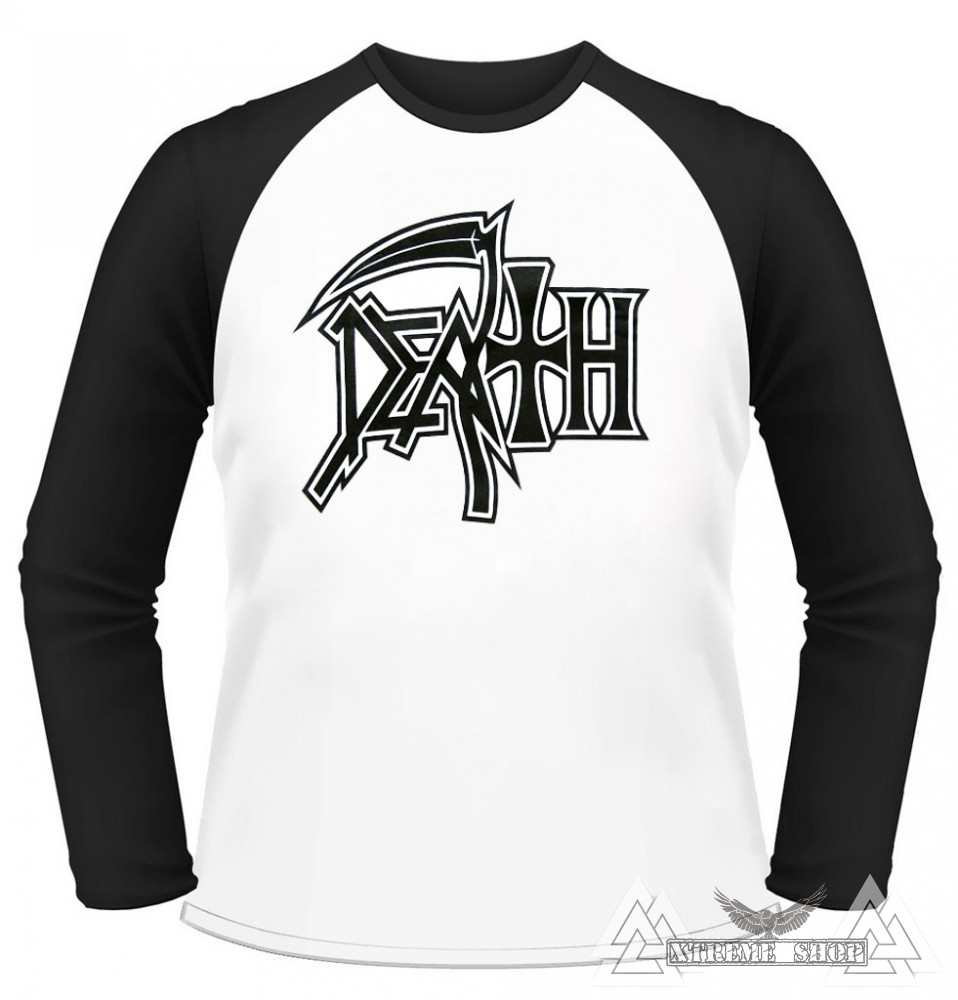 54b0f56c28 Death 'Logo 01' Baseball póló - Xtreme Shop