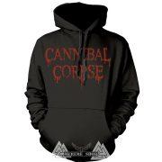 Cannibal Corpse - Logo kapucnis pulóver