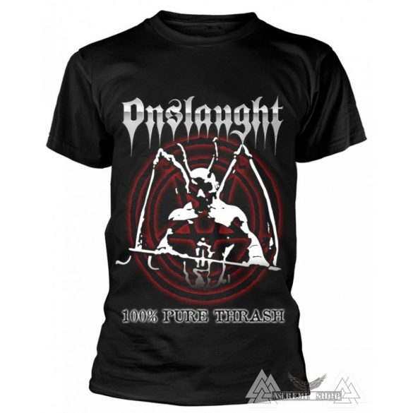 Onslaught '100% Pure Thrash' póló