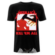 METALLICA KILL 'EM ALL TRACKS póló