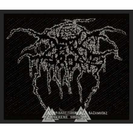 Darkthrone - Logo Szövött felvarró