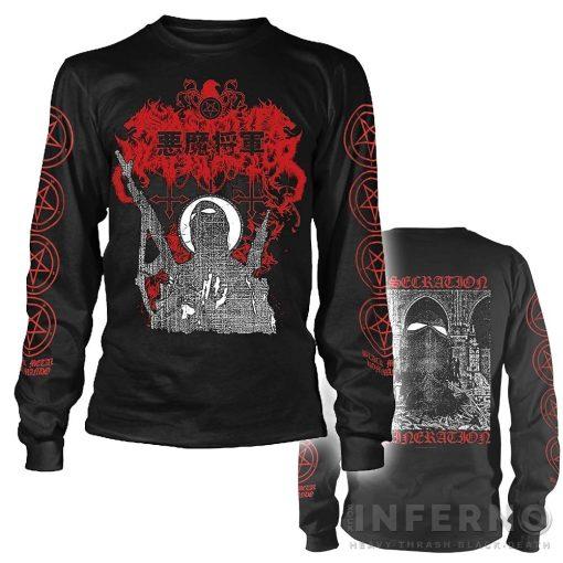 Satanic Warmaster - Black Metal Kommando Hosszú ujjú póló