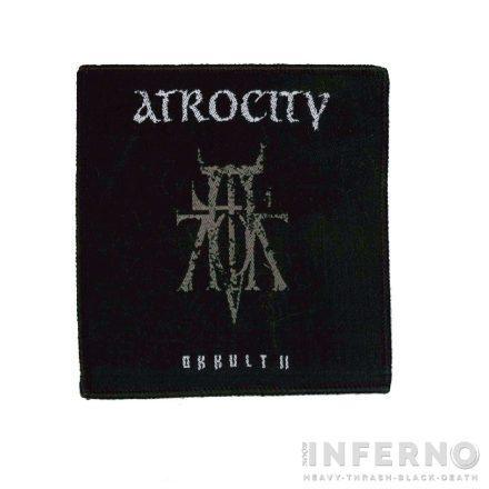 ATROCITY - Okkult II Szövött felvarró
