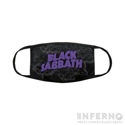 BLACK SABBATH - DISTRESSED 2 RÉTEGŰ ARCMASZK