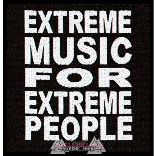 Morbid Angel - Extreme Music szövött felvarró