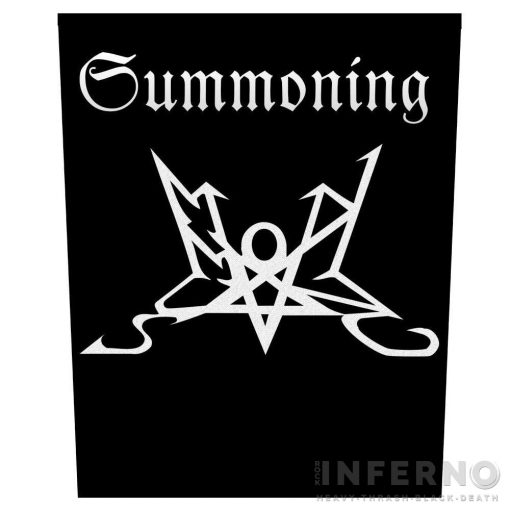 Summoning - Logo Szövött hátfelvarró