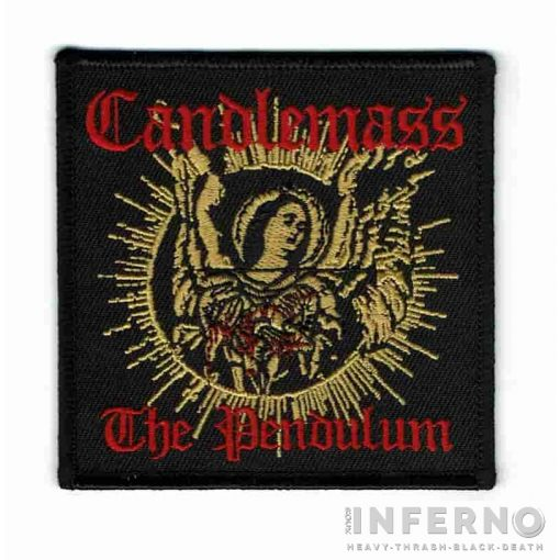 Candlemass - The pendulum Szövött felvarró