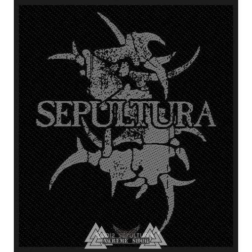 Sepultura - Logo szövött felvarró