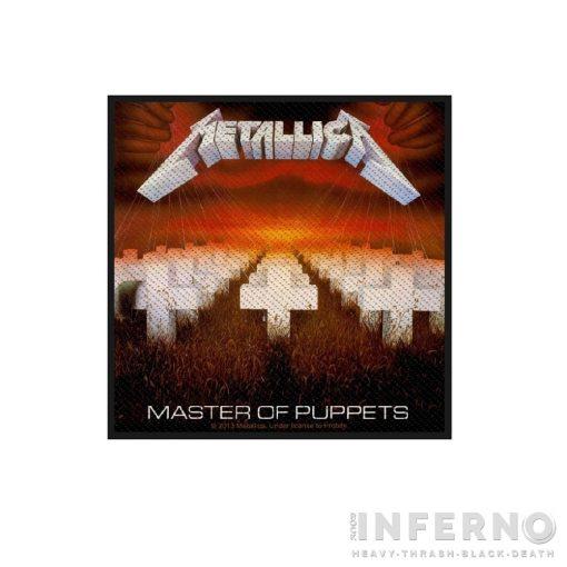 Metallica - Master Of Puppets szövött felvarró