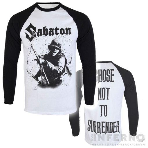 SABATON - Chose not to surrender Hosszú ujjú póló