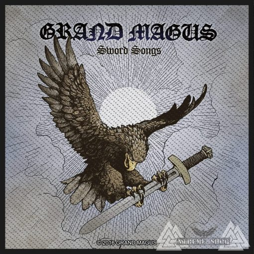 Grand Magus - Sword Songs Szövött felvarró