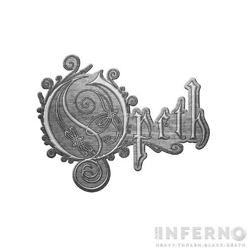 Opeth - Logo Fém kitűző